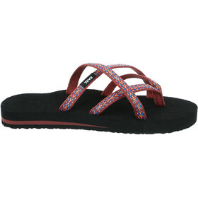 Teva Olowahu Sandals Women red/colourful